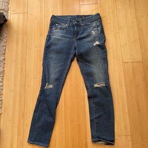 AG the Beau boyfriend jeans size 24